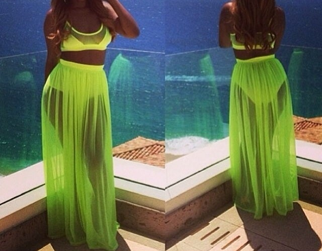 Image of Neon Two Piece