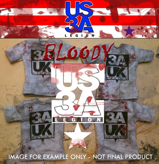 Image of US 3A Legion Shirt - Weathered & BLOODY