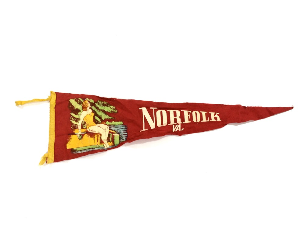 Image of vintage pennant selection