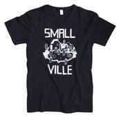 Image of Smallville Shirt Logo- black/ white