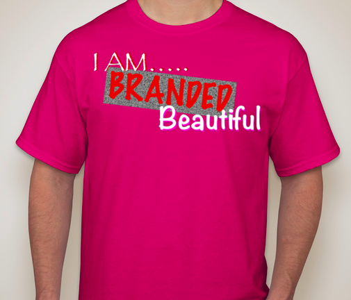 Image of I AM Branded Beautiful T-shirt