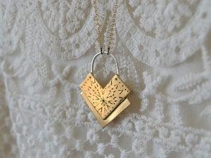Image of Layered Chevron Necklace