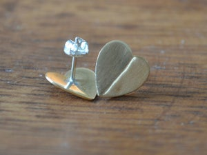 Image of Eclipse Heart Earrings