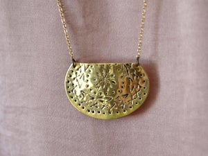 Image of Large Concho Necklace