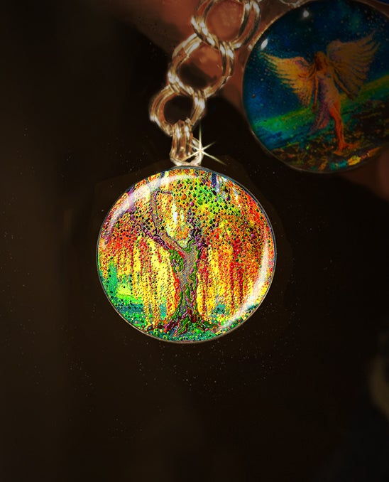Image of Angels Light Guardian Angel Charm