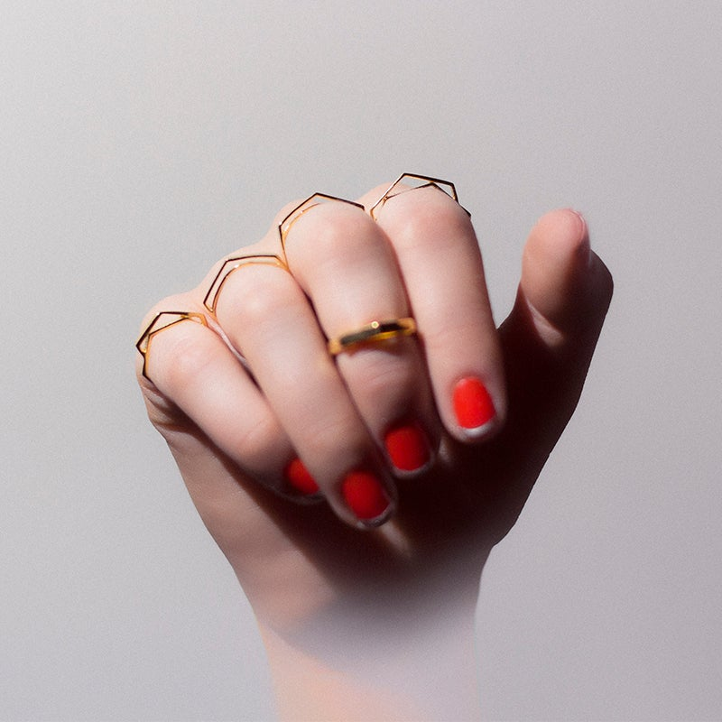 Image of WINNOW Pollux Midi Ring