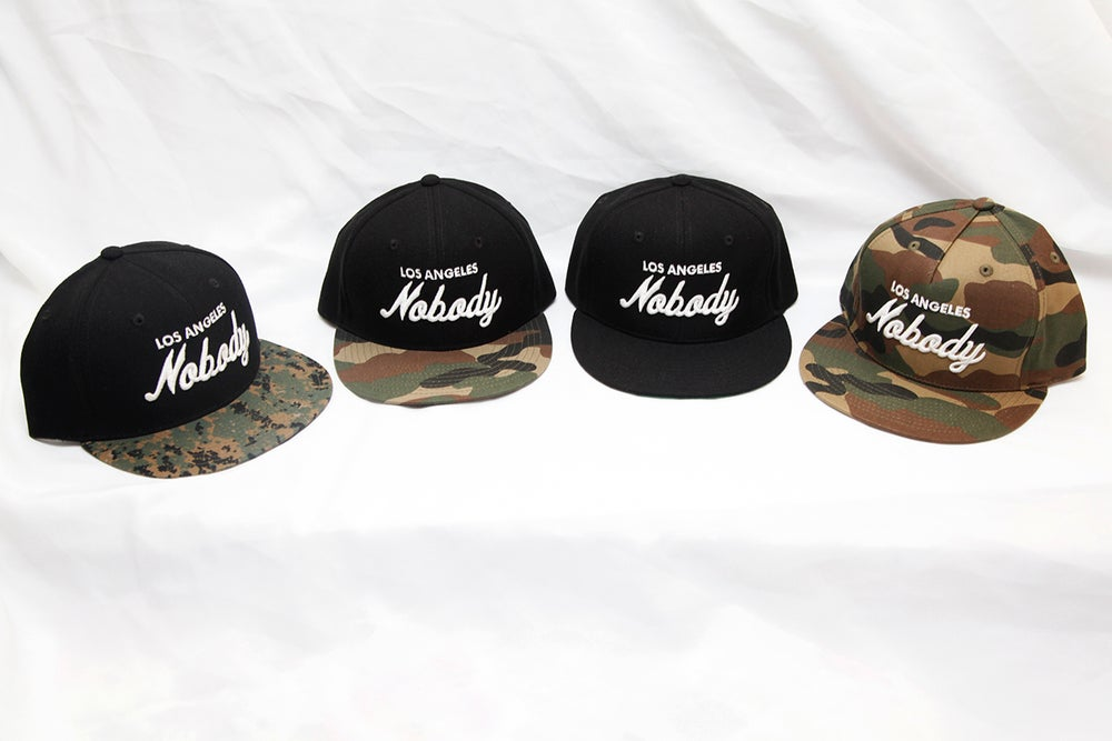 Image of Los Angeles NOBODY Snap Back Hats