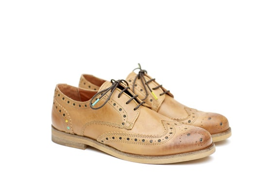 Image of Shoe The Bear & KAOSPILOT Big Brogues Brown