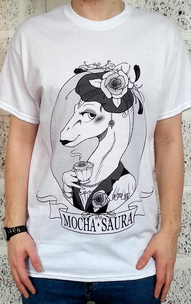 Image of WHITE MOCHASAURA