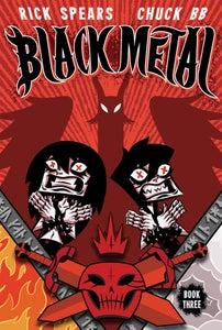 Image of BLACK METAL 3 SIGNED + SKETCH