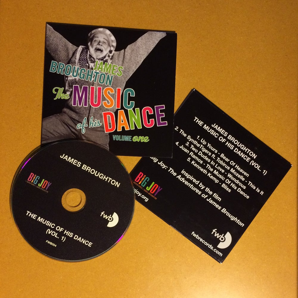 """Image of """"James Broughton: The Music of His Dance (Vol. 1)"""" Compact Disc"""