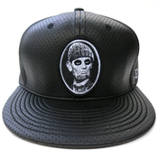 Image of Abe Snapback (Black/White)