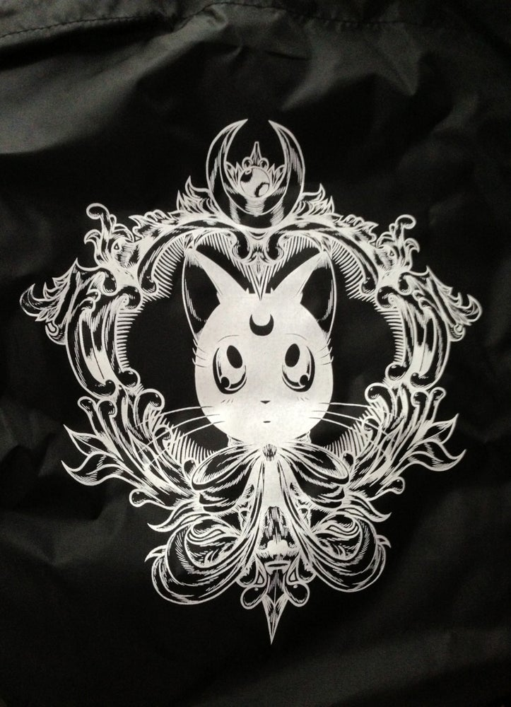 Image of Royal Moon Kitty Tote Bag