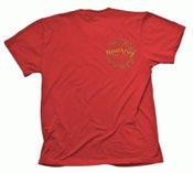 Image of THE SECRET PROSTITUTES - TURBOKRIEG Kommie Kristmas tour shirt