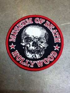 Image of Museum Of Death Logo Embroidered Patch