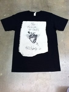 Image of M.O.D. Blackest Heart Shirt