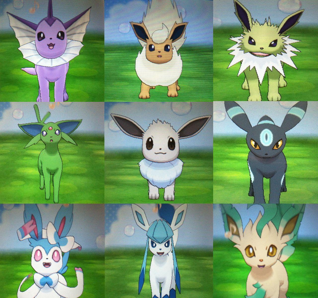 Eevee Shiny Pokemon Qr Codes Images | Pokemon Images