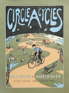Image of Circle A Cycles poster by Alec Thibodeau
