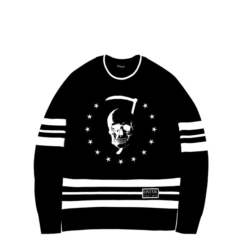 Image of 'Reaper' Hockey Jersey