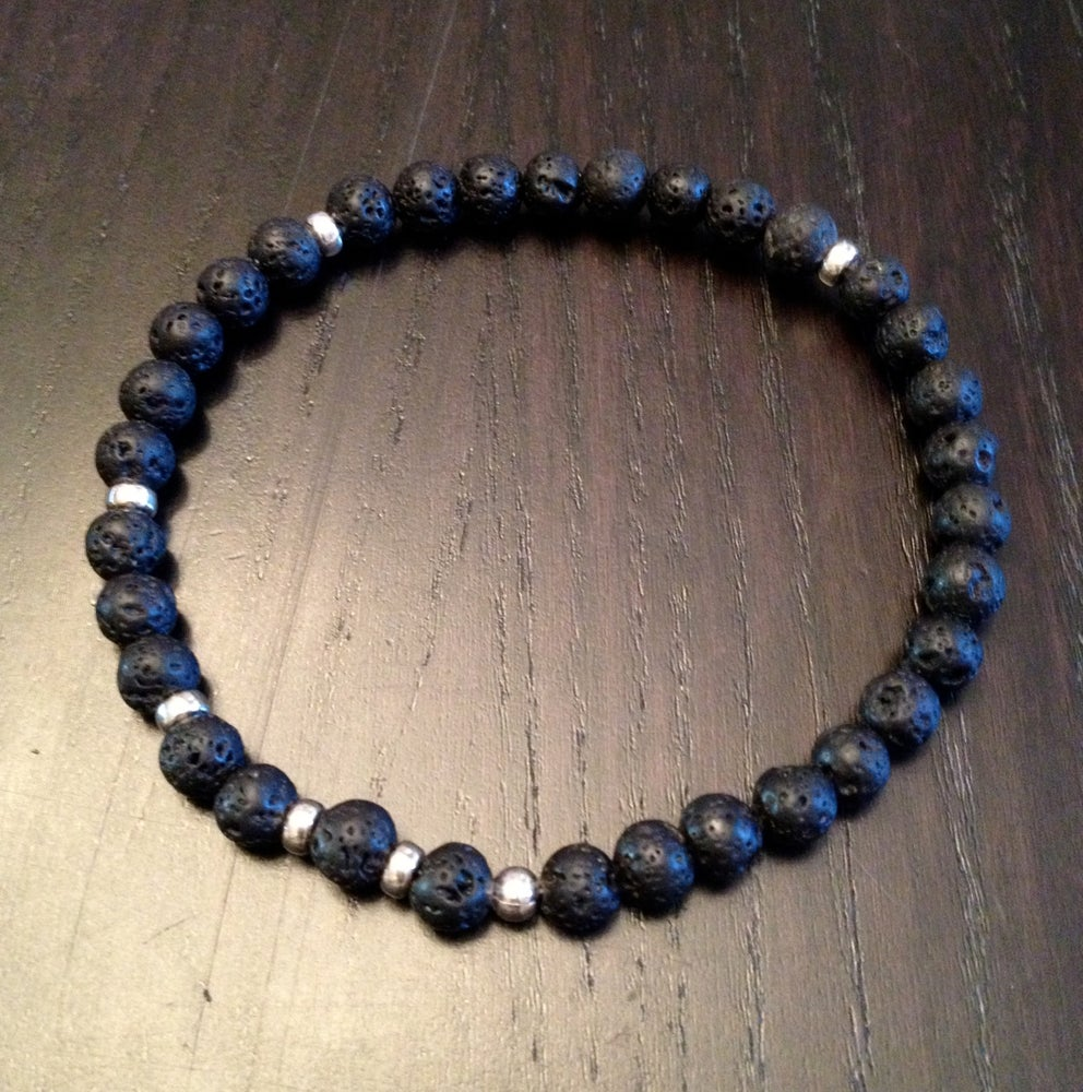 Image of Men's 6mm Infinity Wrist Malas & Bracelets