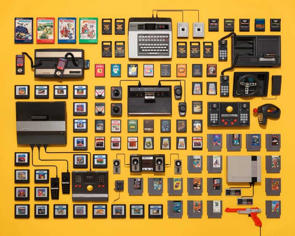 Image of Video Game Collection