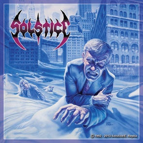 "Image of SOLSTICE ""The Sentencing"" Full Color Vinyl Sticker"