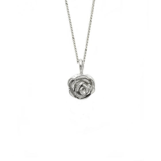 Image of Rose Necklace 3D Small