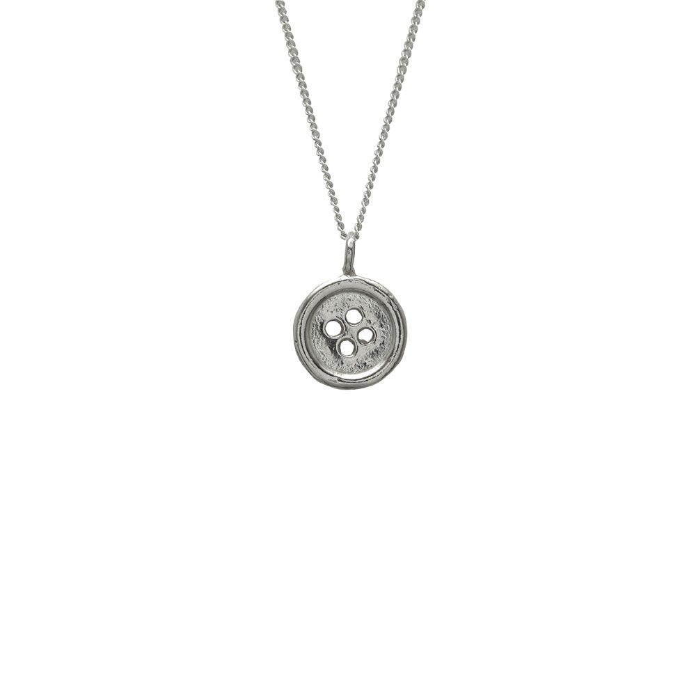 Image of Button Necklace Small 3D