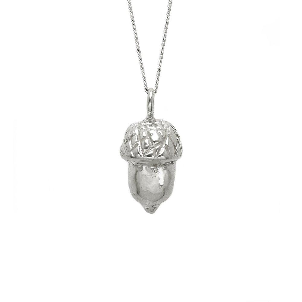 Image of Acorn Necklace 3D