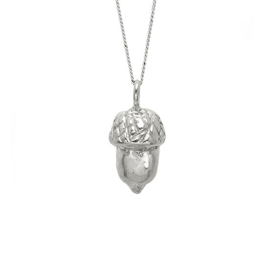 Image of Acorn Necklace 3D