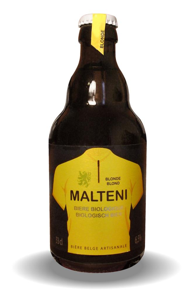 Image of Malteni Blonde 33cl 6 PACK