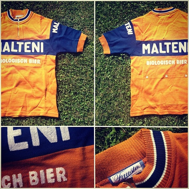 Image of Malteni merino wool jersey