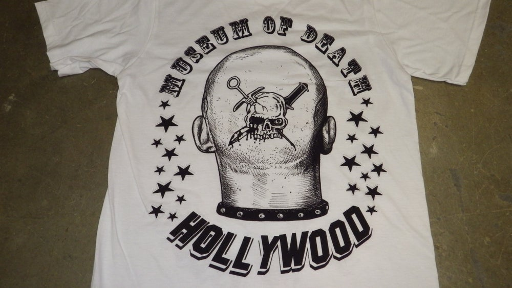 Image of GG Allin / Museum Of Death 2 Sided Shirt