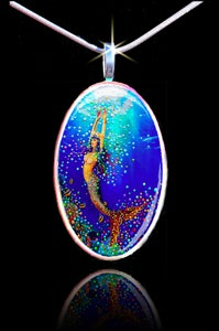 Image of Mermaid Power Dream Pendant - Experience power dreams every night.