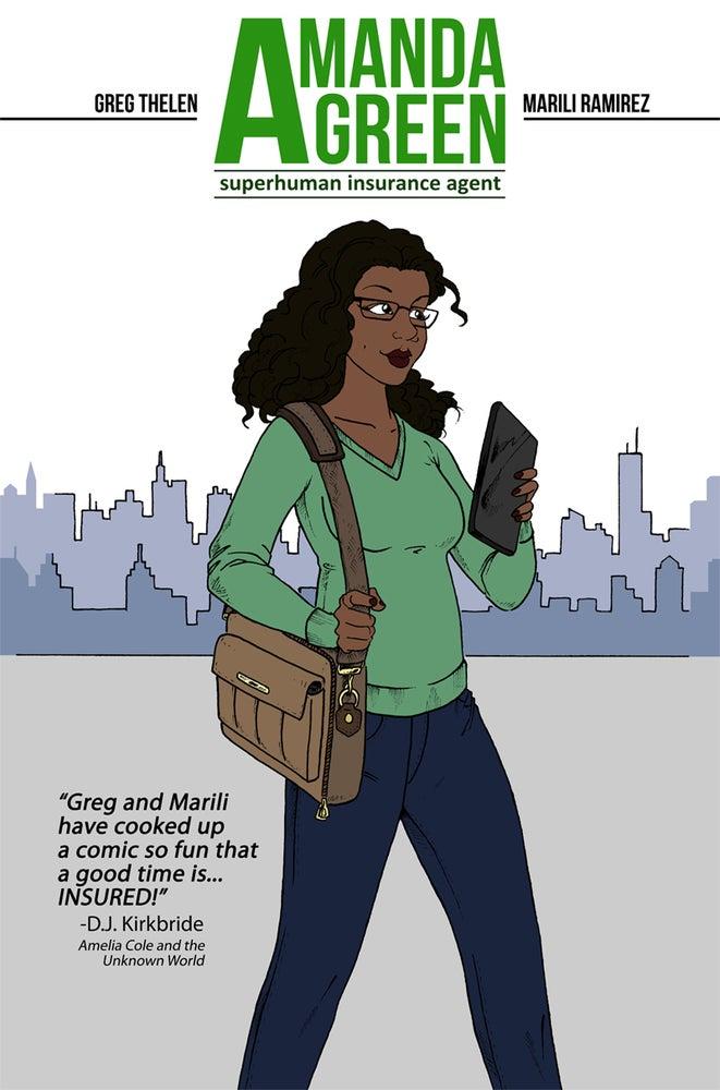 Image of Amanda Green, SIA Mini-Comic