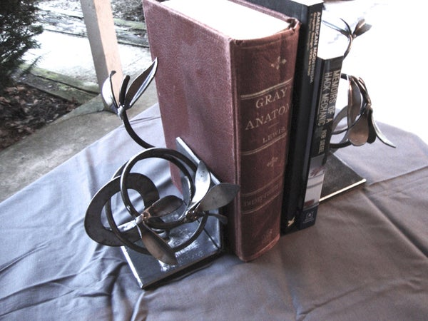 Image of Leafy Bookends (SET)