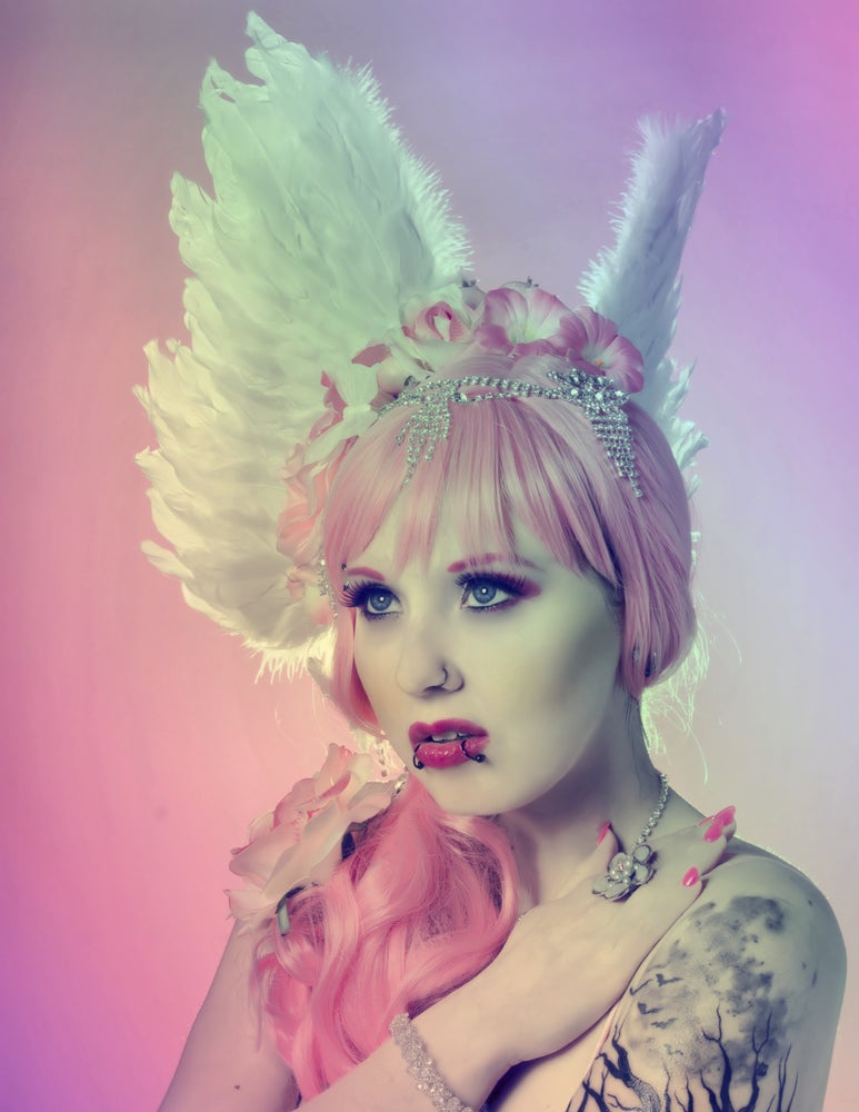 Image of Xlcr Moon Pink Fairy Poster