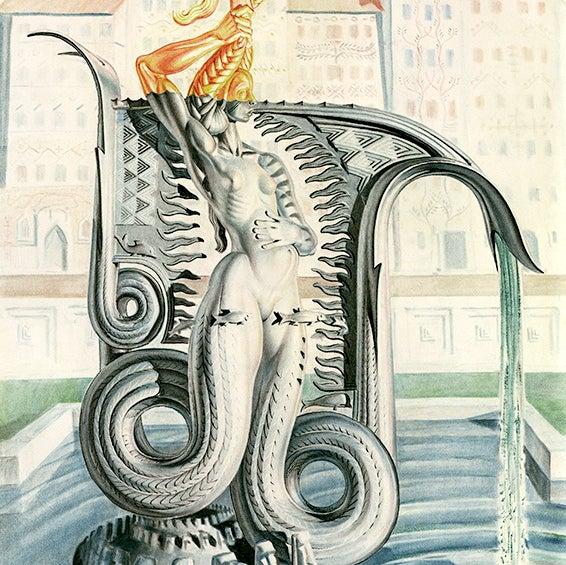 Image of Stanislav Szukalski: Mermaid of Warsaw Print