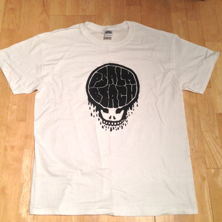 Image of Psalm Beach Brains T-Shirt White