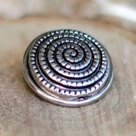 Image of Botón Metal Espiral