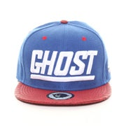 Image of The Ghost Crocodile Snapback-Royal/Red