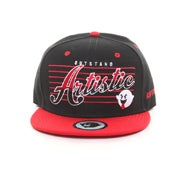 Image of The Outstand Snapback-Black/Red