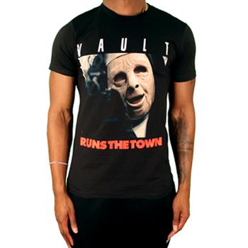 "Image of Vault ""Runs The Town"" T-Shirt (Black)"