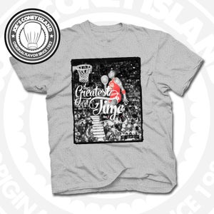Image of The Greatest of All Time - T-shirt Grey