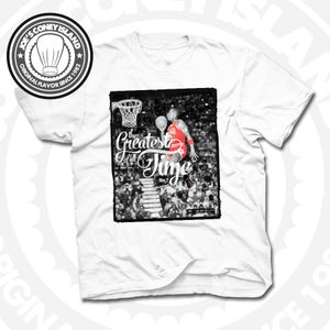 Image of The Greatest of All Time - T-shirt White
