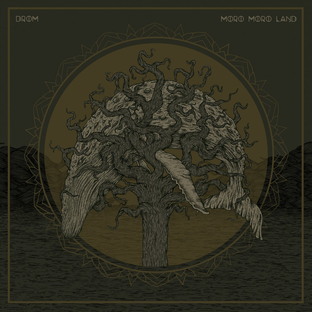 "Image of Drom / Moro Moro Land SPLIT 12"" LP"