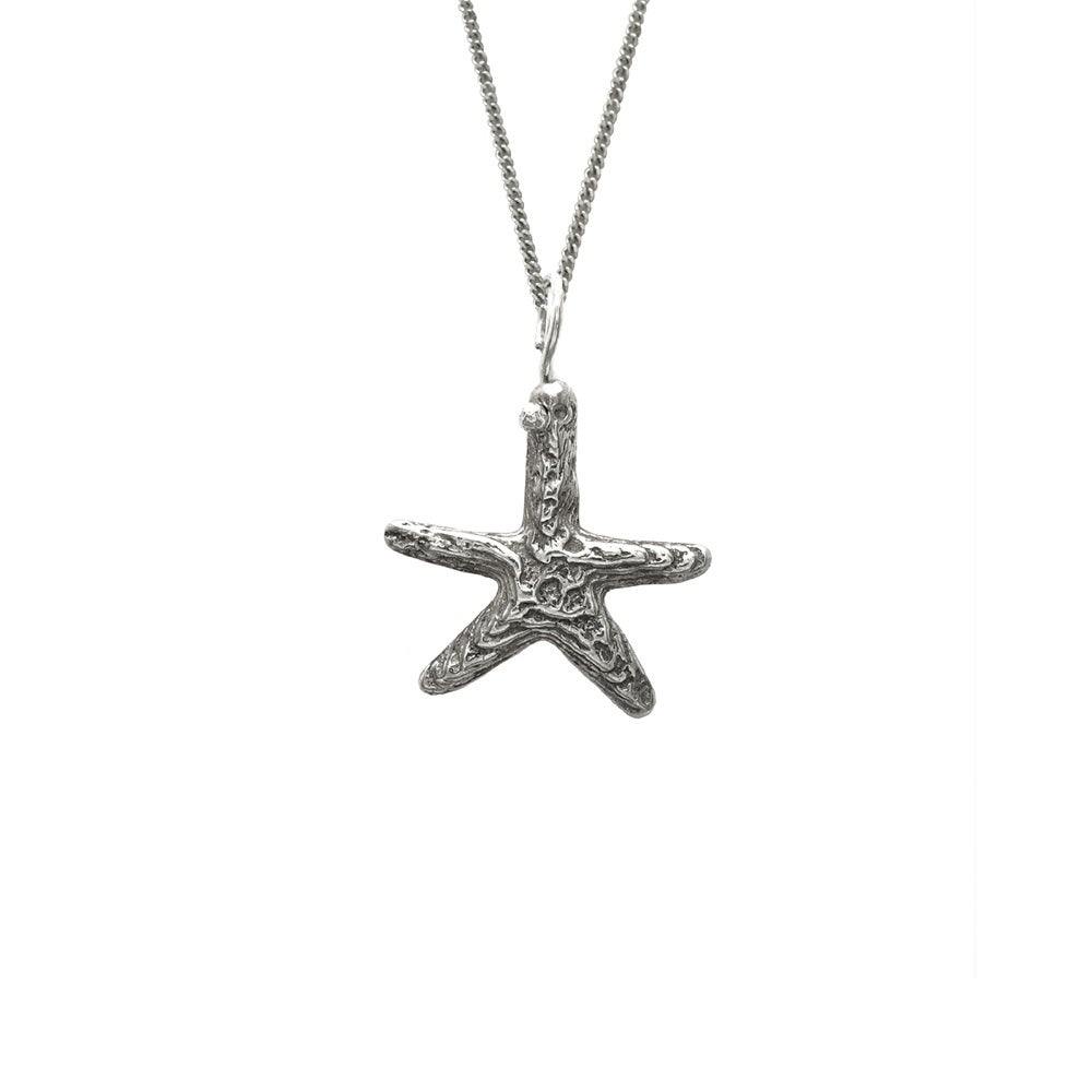 Image of Starfish Necklace 3D Small