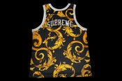 Image of Supreme/Nike basketball Jersey (Size XL) (Black)