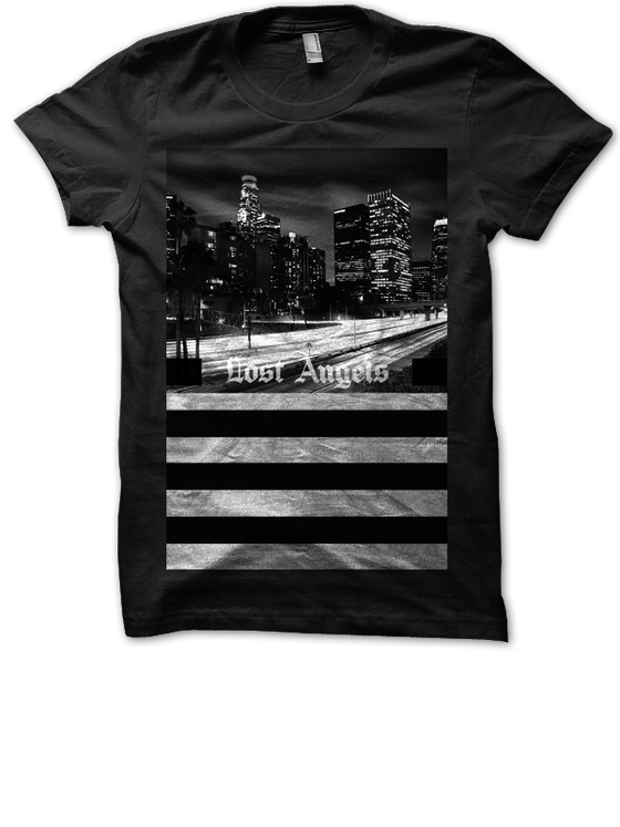 "Image of ""Lost Angels"" Tee - Black"