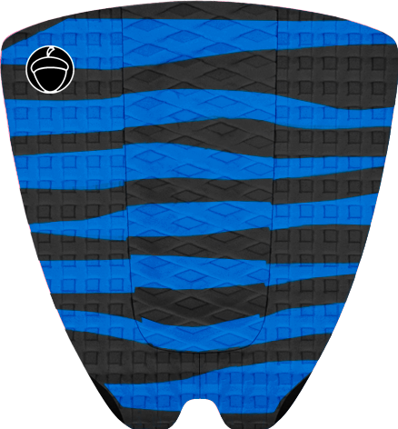 "Image of TAILPAD ""ZEBRA"" BLUE"